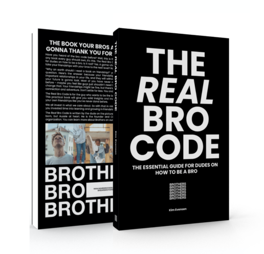 the real bro code_best self help book for men_kim evensen