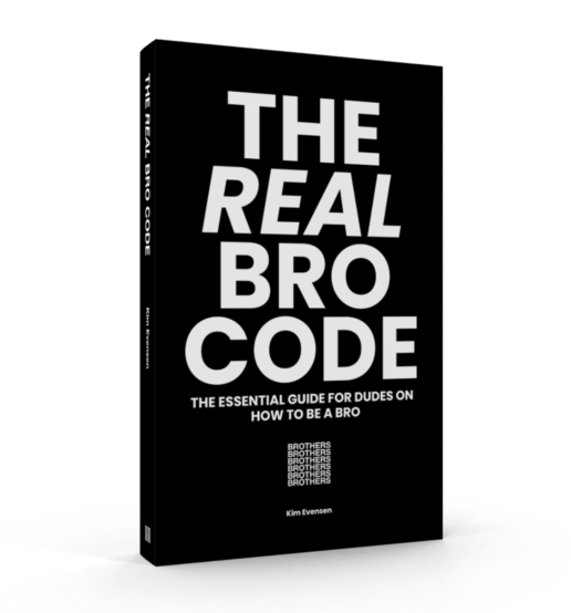 the real bro code kim evensen_cover photo
