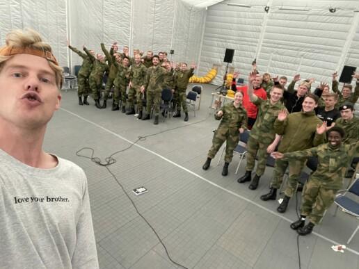 Kim Evensen, Brothers at Terningmoen, Forsvaret, Norwegian Armed Forces